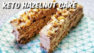 How to make keto hazelnut cake…