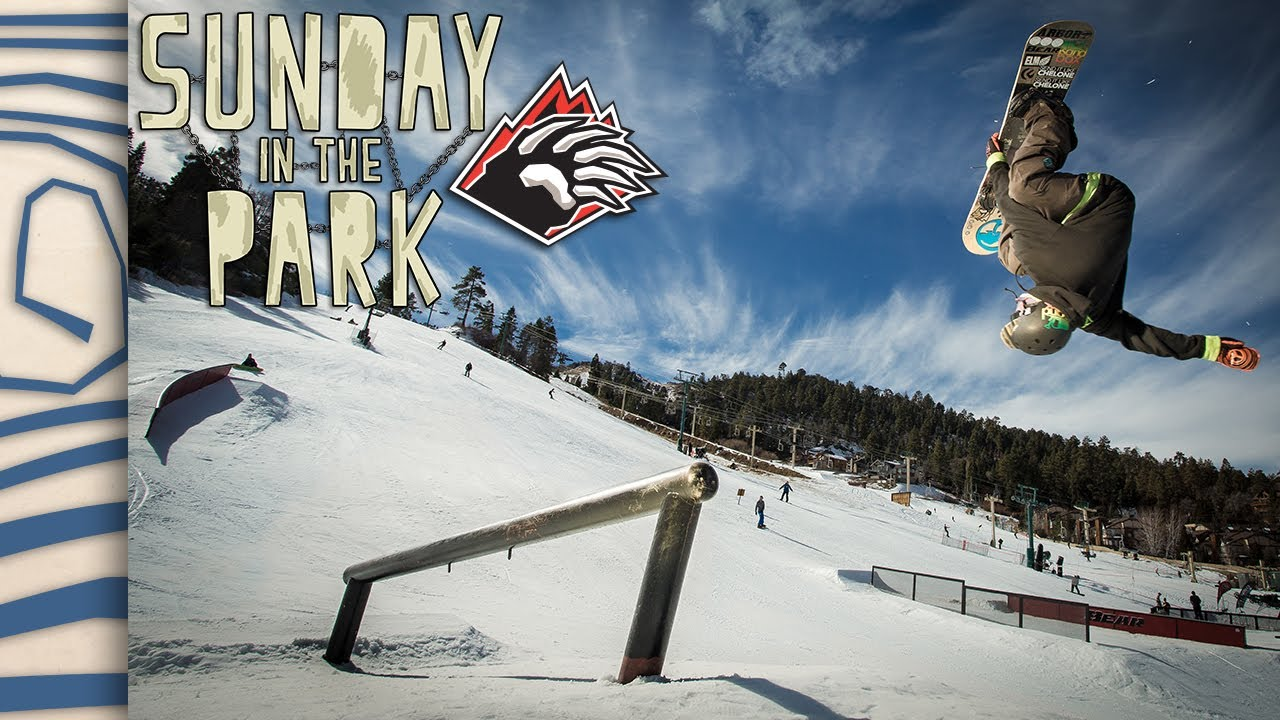 b72597ddffa6 Sunday In The Park 2014 Episode 1 - Bear Mountain - TransWorld SNOWboarding  - YouTube