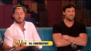 Maksim & Valentin Chmerkovskiy on The View