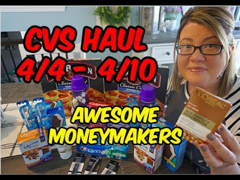 CVS HAUL (4/4 – 4/10) | Moneymakers on L'oreal, Crest & more!