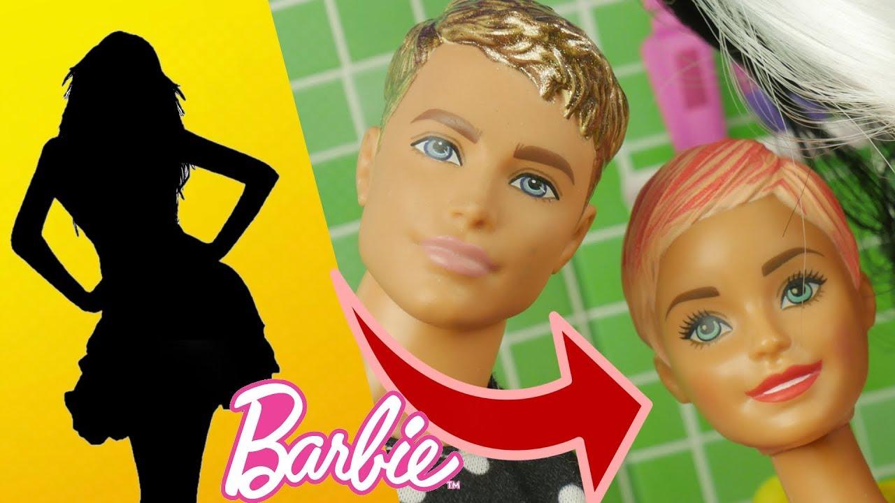 Barbie i Ken 🧡 Metamorfoza • Salon fryzjerski 🔃 bajka po polsku