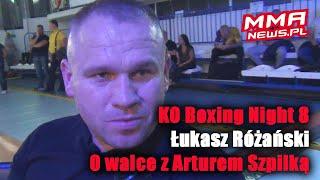 Łukasz Różański o potencjalnej walce ze Szpilką i emeryturze Izu Ugonough