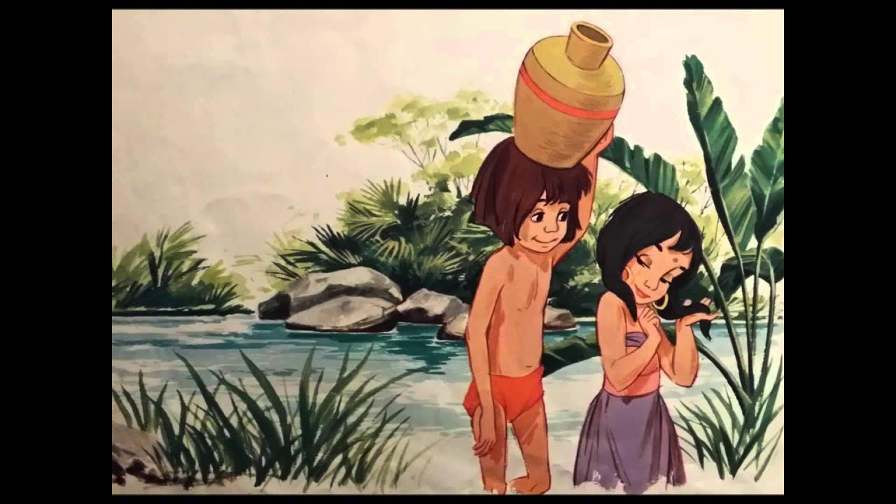 l'eau de la maison Le livre de la Jungle le 33 tours de 1968 - YouTube