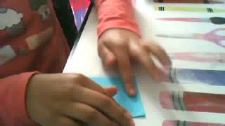 Origami:Fleur d'Iris !!!!!! Tres facile a faire!!!HD