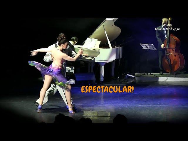 ESPECTACULAR, Tango performance, Julian Sanchez, Melina Mourino