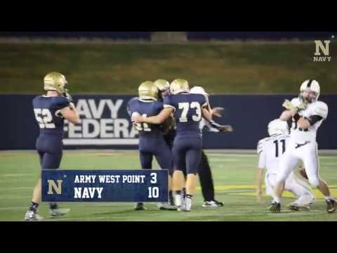 Navy Sprint FB - Highlights Vs Army