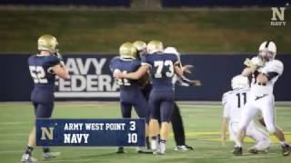 Navy Sprint FB - Highlights vs Army
