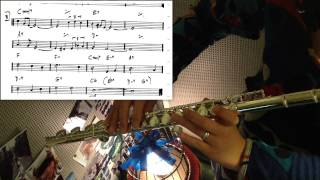 all of me - jazz flute / standard with score