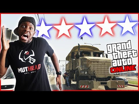 THE 5 STAR CHALLENGE! - GTA Online Gameplay