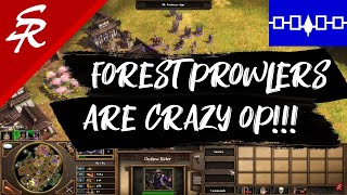 Forest Prowlers are INSANE!! | Strategy School | Age of Empires III