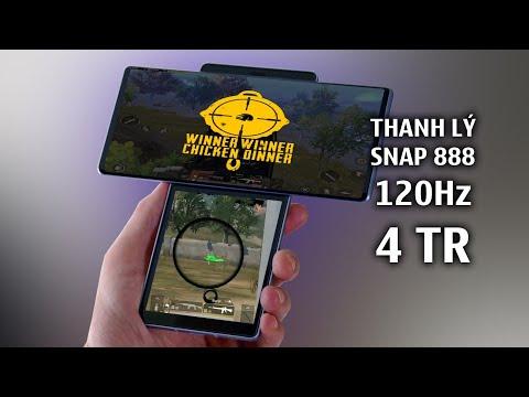 THANH LÝ ĐIỆN THOẠI Snap 888 120Hz RAM 16GB ~ 4TR