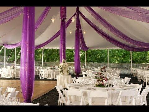 Romantic Wedding Reception Decor Youtube