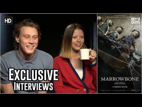 Mia Goth & George MacKay tell us The Secret of Marrowbone