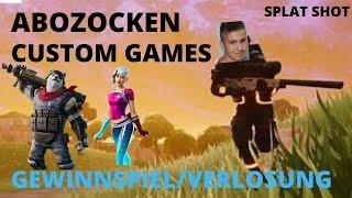 Fortnite Live Deutsch/ABOZOCKEN+VERLOSUNG+CUSTOM GAMES/Fortnite Livestream Deutsch