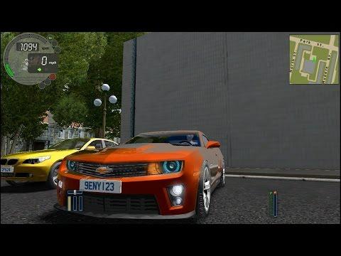 Chevrolet Camaro ZL1 City Car Driving