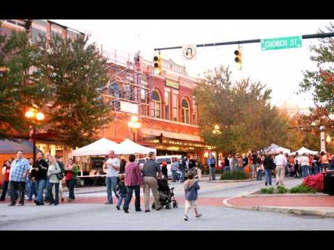 Anderson SC Downtown Tour