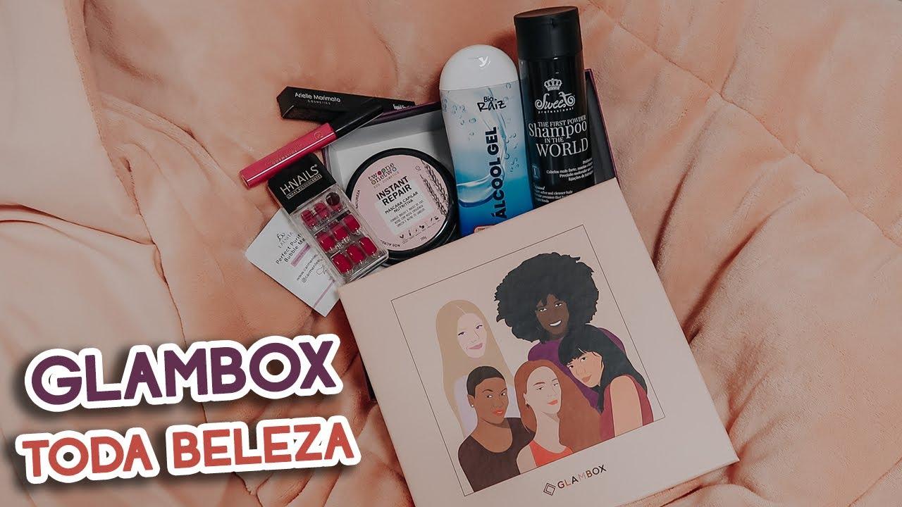 GLAMBOX TODA BELEZA - JUNHO 2020 | Nana Casa Grandi