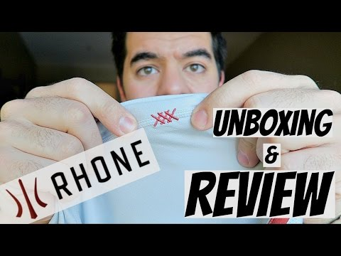 Better than Lululemon? || Rhone Apparel Unboxing & Review