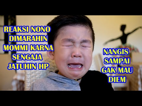 Apa!!! HP PECAH DIBANTING Nono - Mommy Bentak Nono Sampai NANGIS !!!