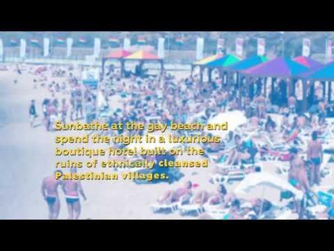 Sunbathe on the Ruins of Ethnically Cleansed Villages  - Boycott Tel Aviv Pride