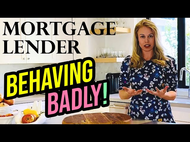 Why Are Mortgage Lenders Behaving Badly (Mortgage Rates 2020) - VA Loan First Time Home Buyer 🏠
