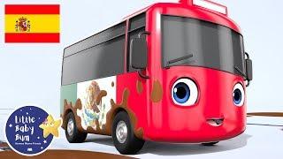 Buster el Autobús Mexicano | Atascado en el Barro | Canciones Infantiles | Caricaturas para Niños