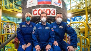 Watch Three New Crew Members Launch to the International Space Station