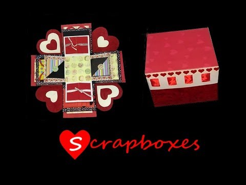 DIY New Year gift // Explosion Box // Magic Box // Best Gift