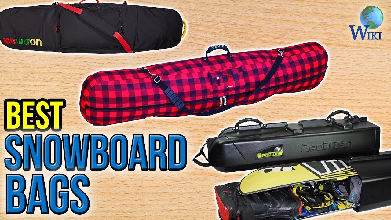 How To Pack A Snowboard Bag | Whitelines Snowboarding - YouTube