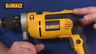 DeWalt 700W DWD024K Keyless Percussion Drill XMS18HAMMERD
