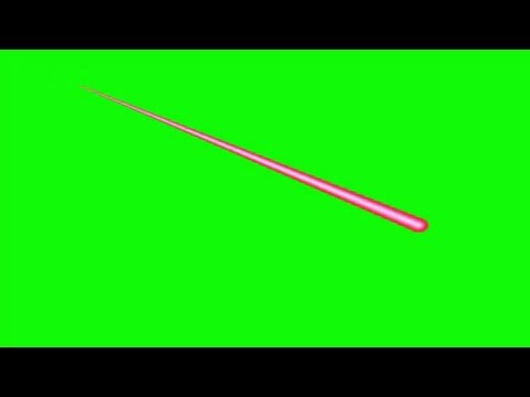 Moving Laser Fire FX Free Green Screen