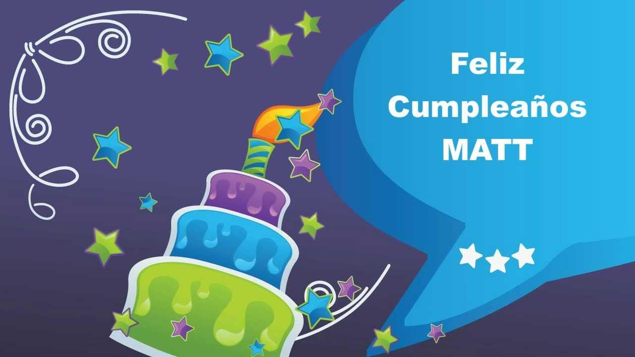 Matt animated cards happy birthday youtube kristyandbryce Image collections