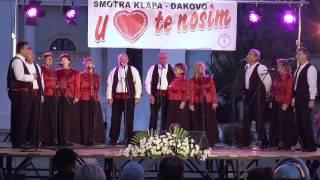 """1. Smotra klapa """"U srcu te nosim"""" - Đakovo 2016"""