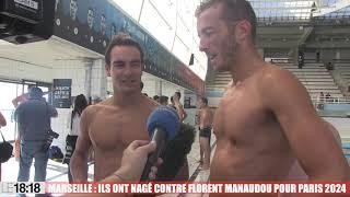 Marseille : ils ont nagé contre Florent Manaudou pour Paris 2024