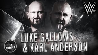 "Luke Gallows & Karl Anderson 1st & NEW WWE Theme Song 2016 - ""Omen In The Sky"" + DL [HD]"