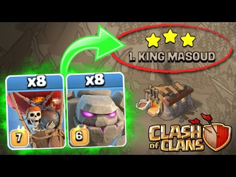 Clash Of Clans - NEW UPDATE TROOPS vs TOP PLAYER IN WAR!! - SURPRISING OUTCOME?