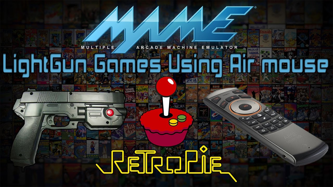 MAME Light Gun Games In RetroPie Using An Air Mouse