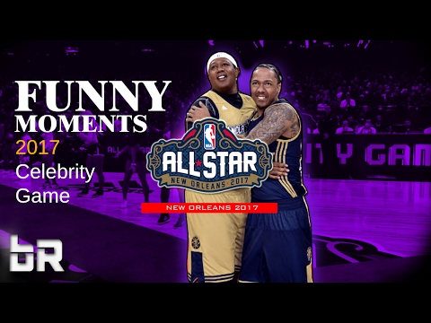 All Star Celebrity Game Funny Moments 2017