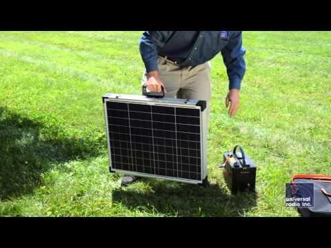 Universal-Radio presents the Samlex MSK 90 Solar charging system