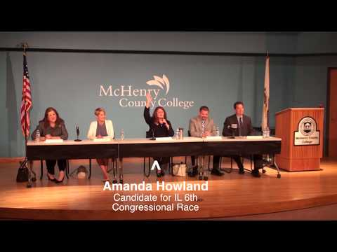 Congressional Candidate Panel Event at McHenry County College, June 28, 2017