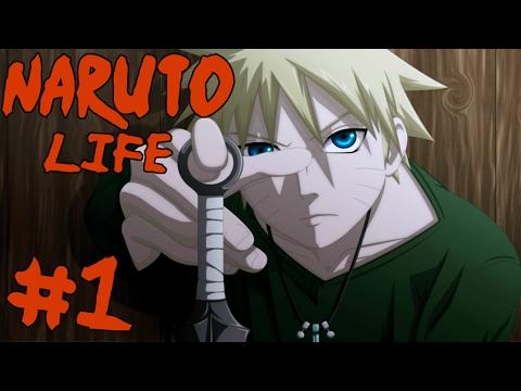NINJA OR DIE! || Naruto Life Episode 1 (Minecraft Naruto Modpack)