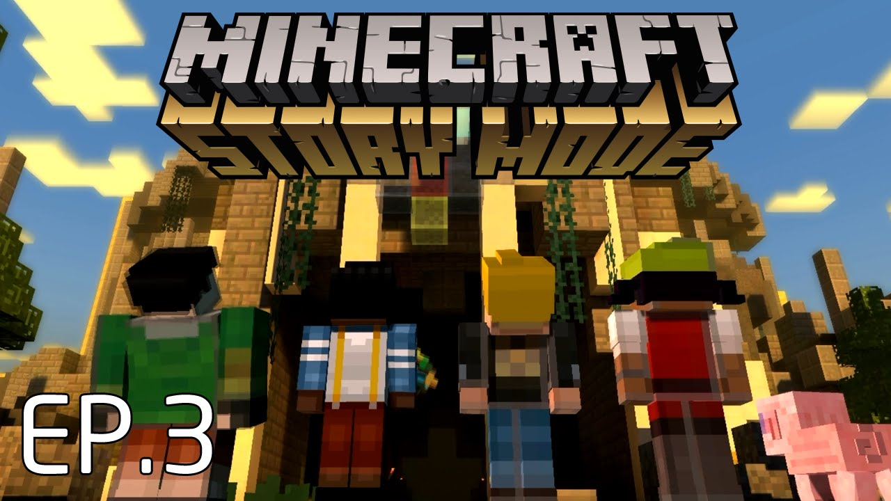 lets download minecraft story mode