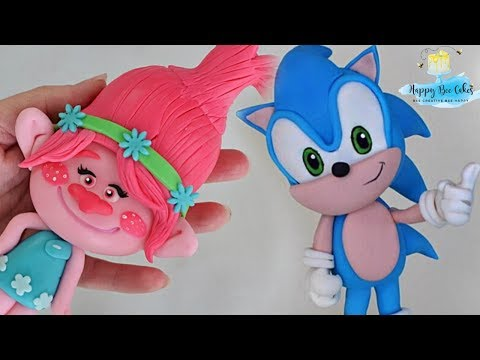 Fondant Cake Toppers Compilation How To Make Cake Toppers Youtube