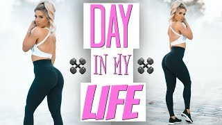 DAY in my LIFE | What I Eat, Workout, & Do All Day