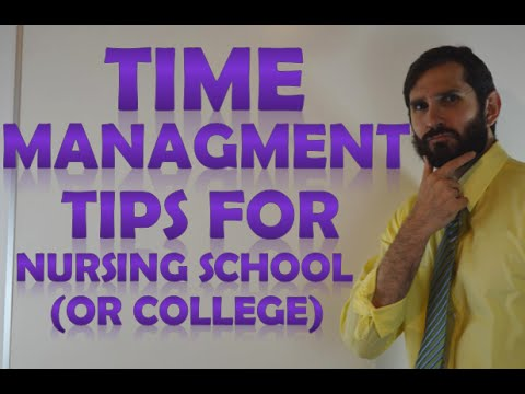 time-management-tips-for-nursing-school-(part-6)-(&-other-college-students)