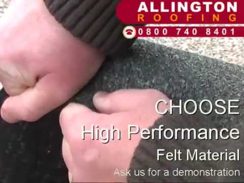 How To Repair A Flat Roof   First Choose The Right Felt