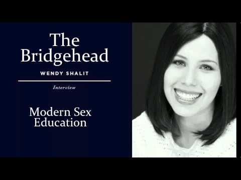 Jonathon Van Maren with Wendy Shalit on modern sex education