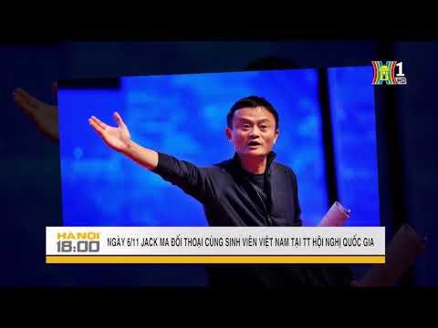 Jack Ma đối thoại cùng s/v Việt Nam tại TT Hội nghị Quốc gia 6.11.2017 | Tin tức HANOITV