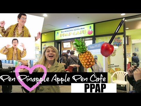 Pen Pineapple Apple Pen // Picotaro Cafe