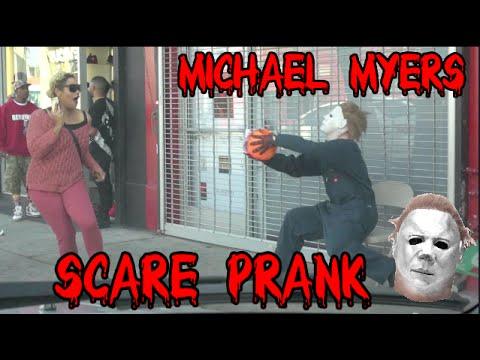 michael myers halloween scare prank youtube - Funny Halloween Prank